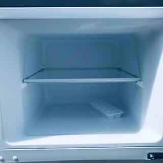 ⑤✨2017年製✨647番 ✨エスキュービズム 2ドア冷蔵庫✨WR-2118SL‼️ - 新宿区