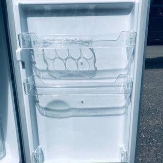 ⑤✨2017年製✨647番 ✨エスキュービズム 2ドア冷蔵庫✨WR-2118SL‼️ − 東京都
