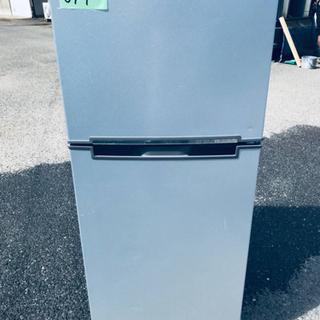 ⑤✨2017年製✨647番 ✨エスキュービズム 2ドア冷蔵庫✨WR-2118SL‼️の画像