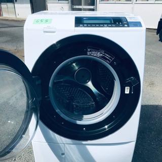 ⑤‼️ドラム式入荷‼️10.0kg‼️ ✨乾燥機能付き✨653番 HITACHI✨日立電気洗濯乾燥機✨BD-S8700L‼️ - 新宿区