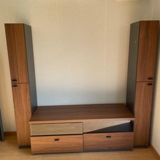 テレビ台と左右の棚セット