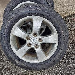 タイヤ H14年式 トヨタ ヴォクシー純正ホイール付き