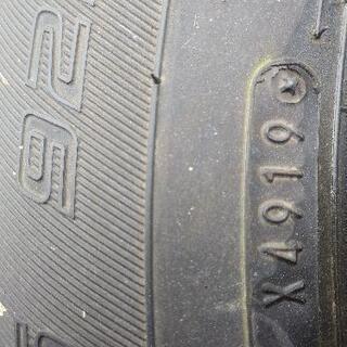 ダンロップ2019年 195/65R16 バリ山4本 タイヤのみ エナセーブ - 売ります・あげます