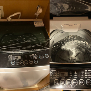 【引渡し先決定】洗濯機6kg マクスゼン(Maxzem) - 家電