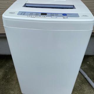 洗濯機 AQUA 6.0kg
