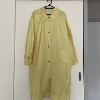 黄色いレインコート【大人女性用】差し上げます