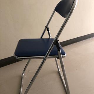 パイプ椅子 5脚セット