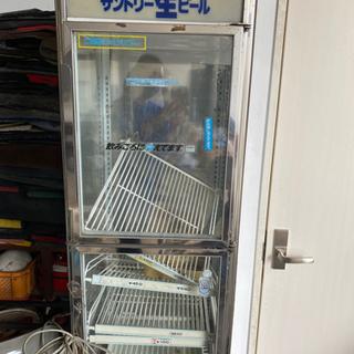 酒屋さんにあった冷蔵庫 難あり