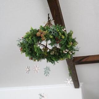 生木で作るクリスマスリース☆ - 松戸市