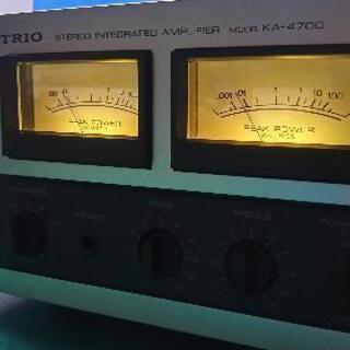 ステレオアンプ VUメーター KA-4700 ソリッドステート ...