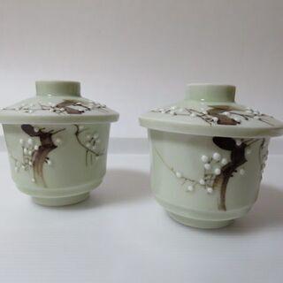 昭和レトロ 茶碗蒸し 梅の木 蕎麦猪口にも 陶器特集 食器棚整理...