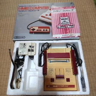 ファミコン本体+カセット