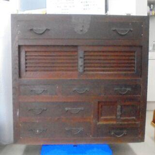年代物  昭和初期  箪笥  整理箪笥  古民家
