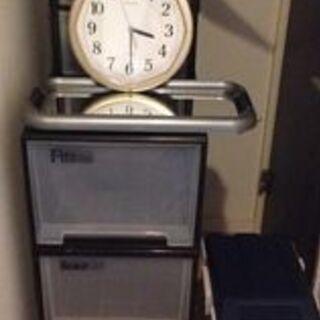 収納ケース 4つとセイコ時計