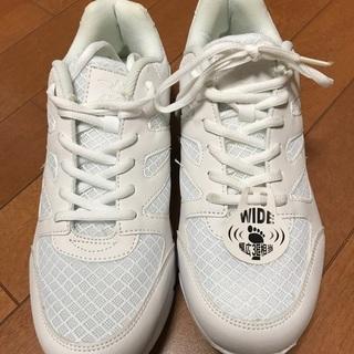 未使用‼️白の運動靴⭐️26cm❗️