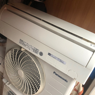 【ネット決済・配送可】エアコン 6-8畳用 Panasonic ...