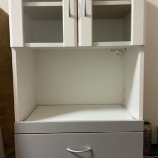 【ネット決済】ベルチェナ キッチンラック ホワイト BL2-11...