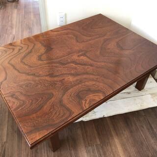 【売約済み】座卓 ローテーブル 木製 木 座敷机 和室 センター...
