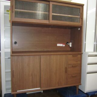 R305 高級 ユーアイ製 カップボード、食器棚、キッチンボード...