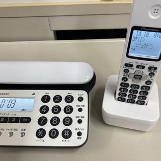 コードレス電話機 子機1台付き/迷惑電話防止機能