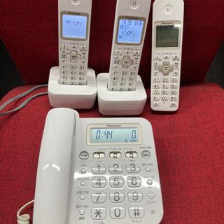コードレス電話機 子機2台付き/迷惑電話対策