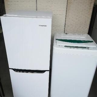 激安セット【送料・設置無料】⭐ハイセンス冷蔵庫130L+ヤ…