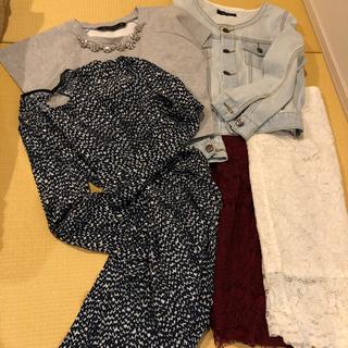 【ネット決済】洋服・Mサイズまとめて5点・ZARA・GUI・&b...