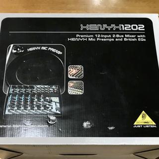 XENYX1202ミキサー