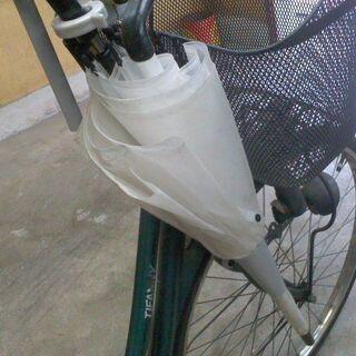 さすべえ   自転車用傘スタンド   傘立て +傘置きのセット