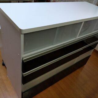 ニッセン食器棚バタフライ対面カウンター
