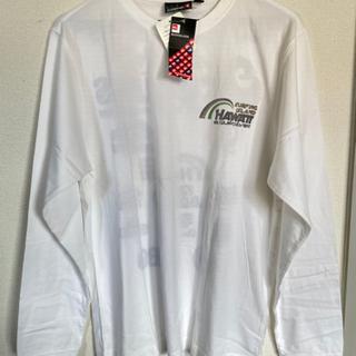 men'sロングTシャツ(M)(白)Quicksilver…