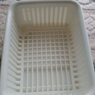 食器かごと、水切り