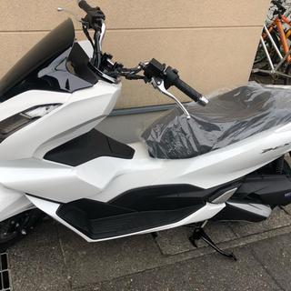 【ネット決済・配送可】【PCX125】最新モデル 新車入荷❗️白...