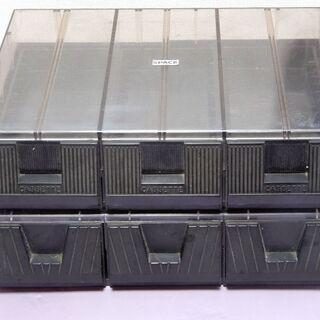 カセットケース2段 各45本合計90本収納