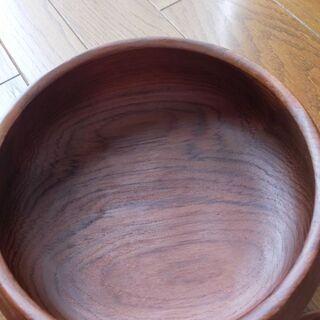 木製サラダボウル(大)&サーバーセット【シルバーウィーク値下げ】