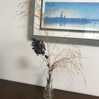 ドライフラワーと花瓶、ミニドライフラワー