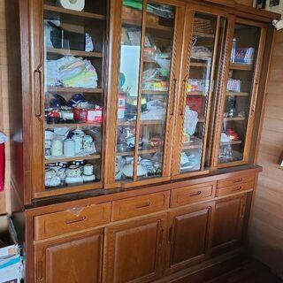 高級食器棚 美品