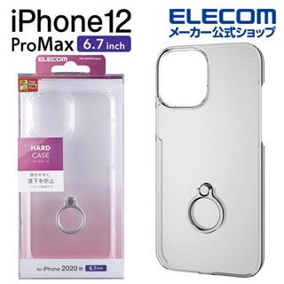 iPhone 12 ProMax ELECOM製 ケース ガラス...
