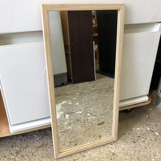 美品❗️鏡・ミラー❣️木製フレーム✨ダメージありません✨