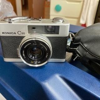 コニカ C35 Konica フィルムカメラ