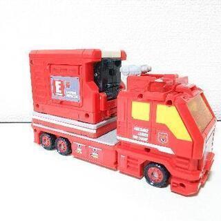 【値下げ】トミカ ハイパーレスキューコンテナはしご消防車