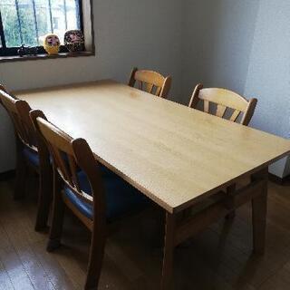 【決まりました】ダイニングテーブル&椅子4客