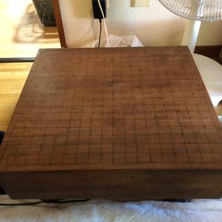 囲碁盤、碁石付き