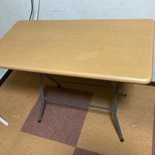 【ネット決済】【断捨離】折り畳み机/デスク 90×45×70cm