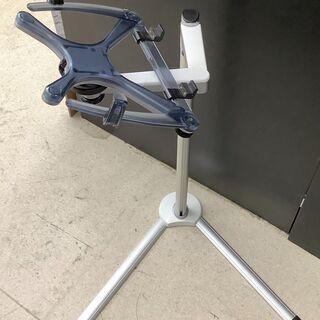 ノートパソコン用スタンド ハイタイプ 高さ約110センチまで対応...