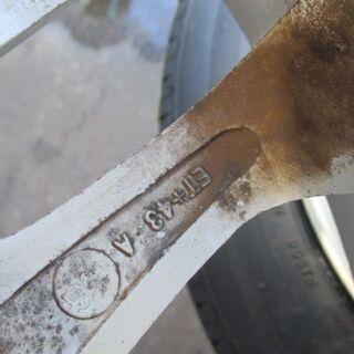 【取付けOK】新品タイヤ&中古アルミセット 155/65R14 ブリジストン 軽自動車 全般 - 売ります・あげます