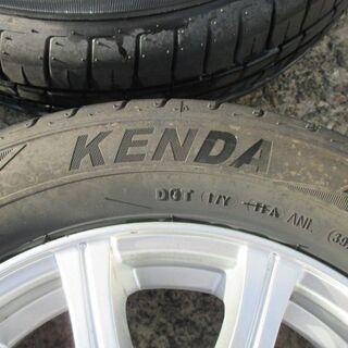 【来店取付OK】中古タイヤ&中古アルミセット 155/65R13 軽自動車 KENDA - 車のパーツ