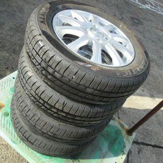 【来店取付OK】中古タイヤ&中古アルミセット 155/65R13 軽自動車 KENDA - 売ります・あげます