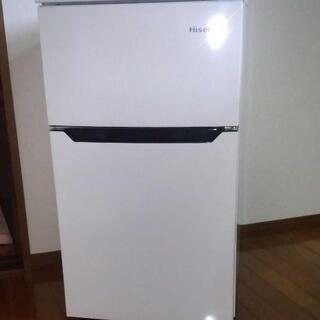 93L 2ドア冷蔵庫(直冷式)ホワイト【右開き】 HR-B95A