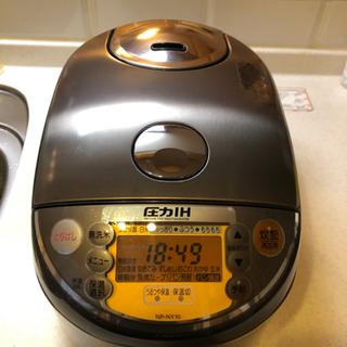 ZOJIRUSHI 炊飯器5.5合炊き シルバー